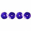 Sequins Round 8mm Aprx 850pcs Hologram Purple